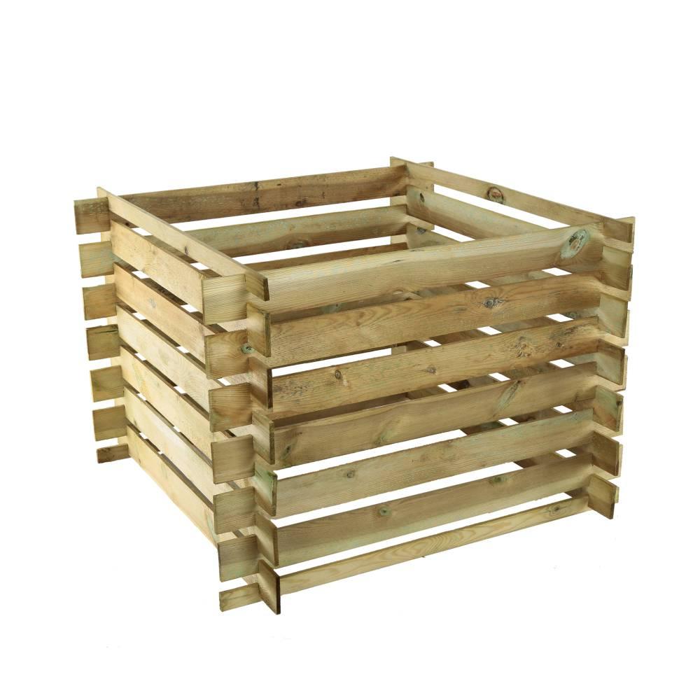 À quoi sert le composteur en bois?